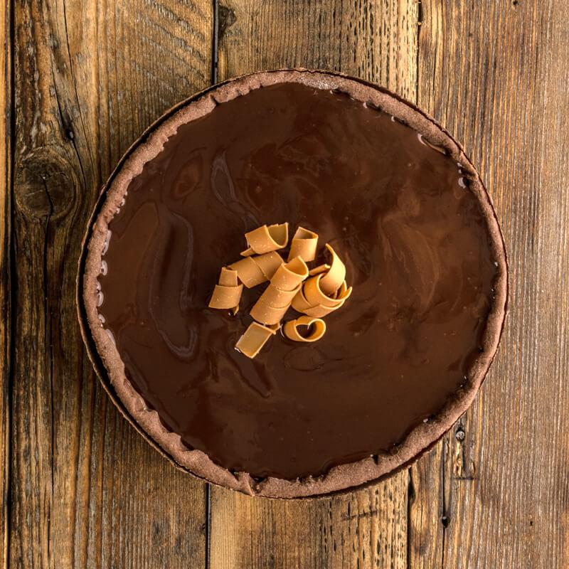Tarta mousse de ciocolata