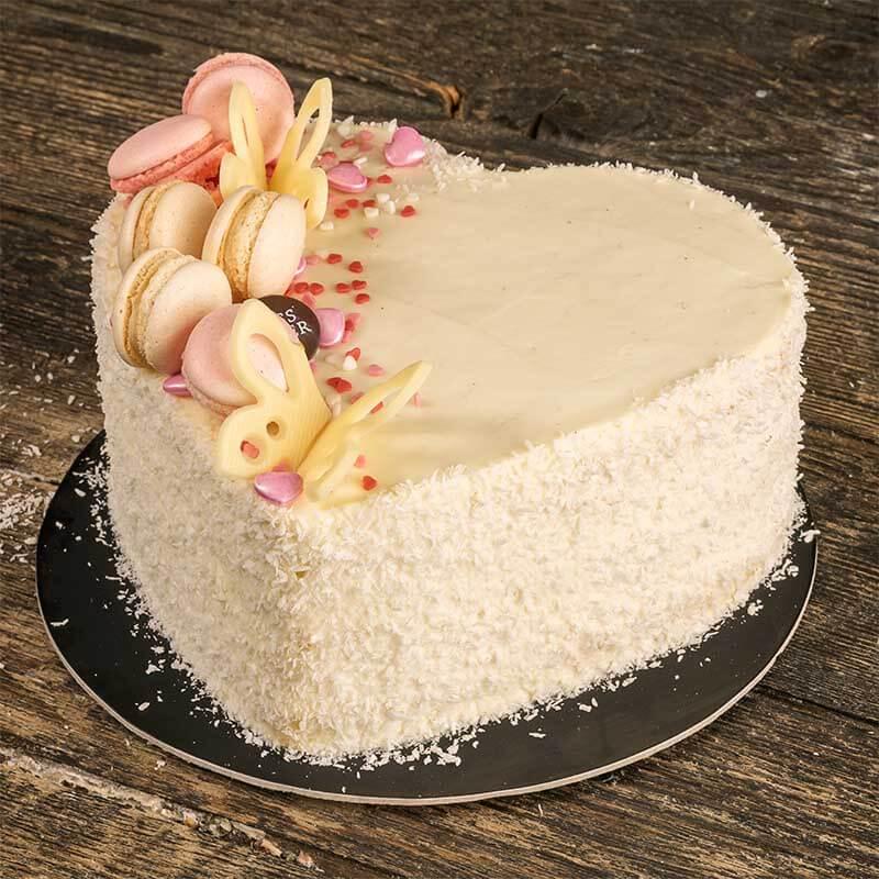 Vanilla Coconut Love Cake