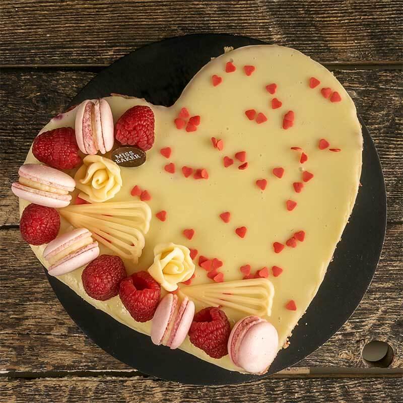 Fraisier Love Cake