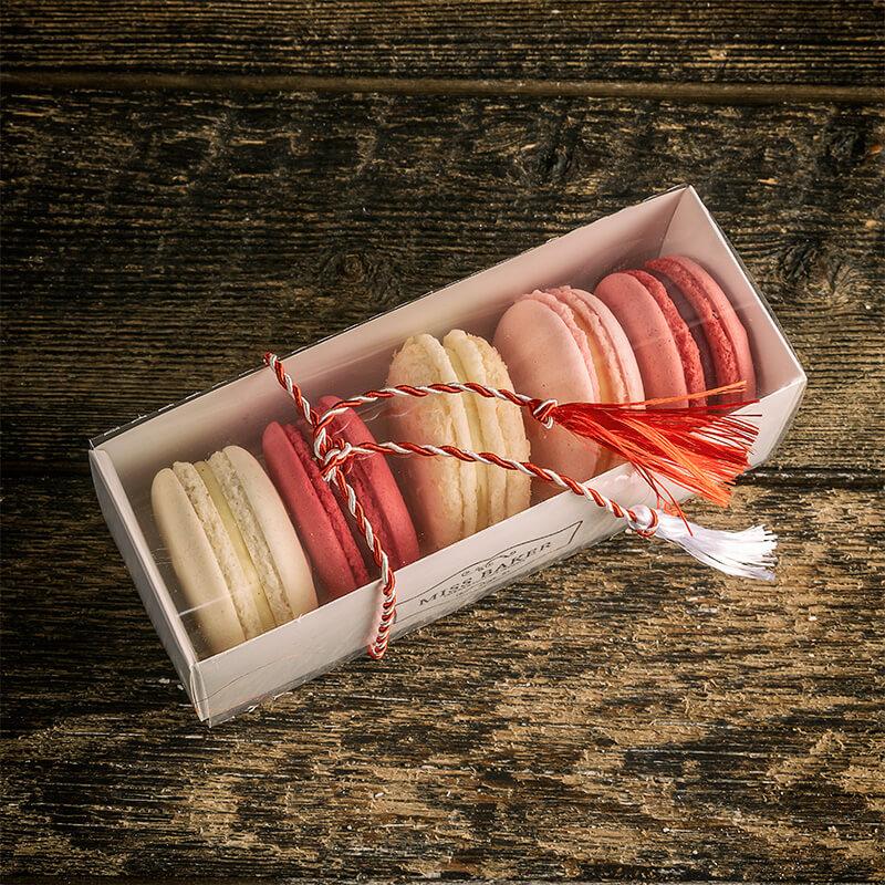5 Macarons