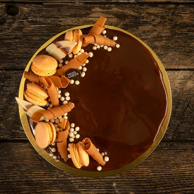 Tort Caramel Sarat si Arahide