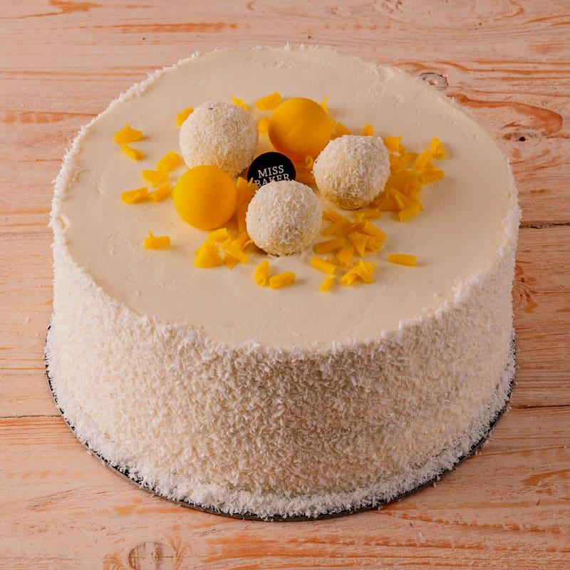 Tort Exotic de Cocos si Ananas