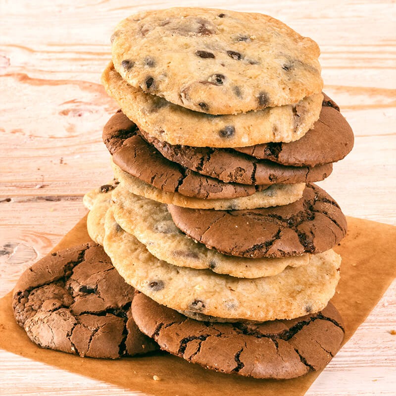 Mix Chocolate Chips Cookies